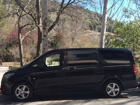 taxi malaga airport 24 hours for 4 seats